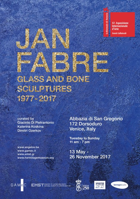 Jan Fabre. Glass and Bone Sculptures 1977-2017